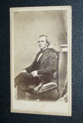 Original Civil War Photo Vp Andrew Johnson Anthony Of Nyc From Brady