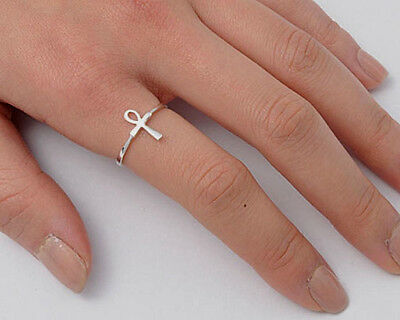 USA Seller Maltese Cross Rings Sterling Silver 925 Best Price Jewelry Selectable