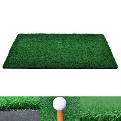 37x25cm Backyard Golf Mat Residential Training Hitting Pad Practice Tee HolderSK