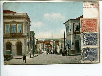 Brazil picture post card to Sweden, franked on front 1921(?)