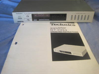 TECHNICS Micro System Stereo ST-CO4  Amp  Tuner with Manual - SUPERB!!! **LOOK**