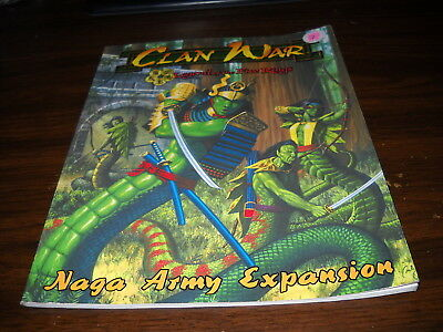 Clan War: Naga Army Expasion Rulebook