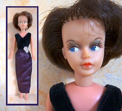 Vintage fashion doll , Tressy in original dress,  spare and repair