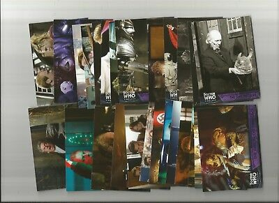 Doctor Who Timeless (Topps)  Purple Parallel Lot Of 12 Diff. #/50