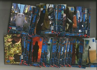 Dr. Who Extraterrestrial Encounters Blue Parallel Lot Of 58 Diff. #/99