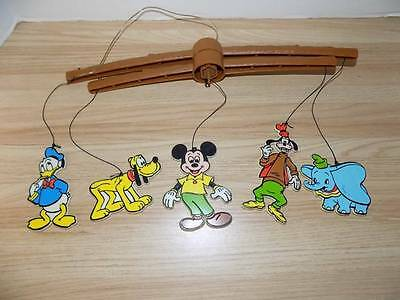 Vintage Disney Characters Figures Mobile Age Unknown