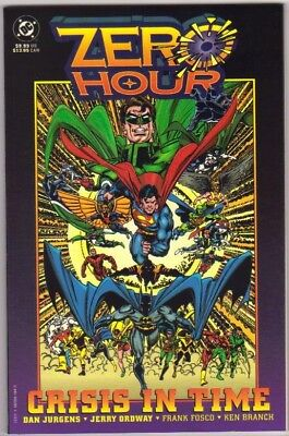 Zero Hour Crisis in Time Graphic Novel (1994) DC Comics