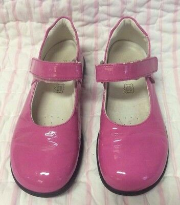 Primigi Sky Effects Pink patent Leather Mary Jane Shoes size 30 US 12 girls