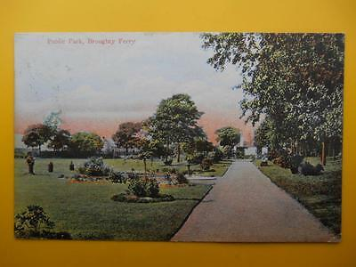 Public Park BROUGHTY FERRY Nr Dundee Angus *Vintage* 1908