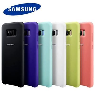 Genuine Official Soft Silicone Case Cover For Samsung Galaxy S8/S8 Plus With Box