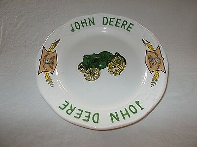 Limited production Gibson John Deere Timeless pattern 10 3/8 decorative plate