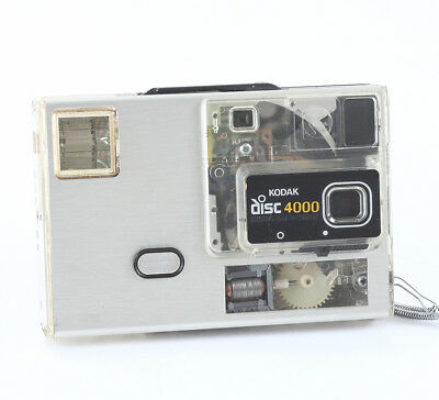 KODAK DISC 4000 IN A PARTIALLY-TRANSPARENT BODY, FOR DISPLAY ONLY/cks/197123
