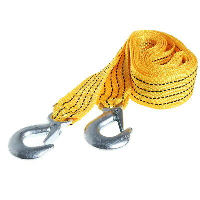 Gracious 3 Tonne 3M Tow Towing Pull Rope Strap Heavy Duty Towing Belt Strap