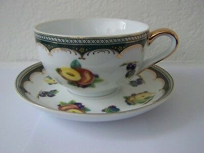 Leonardo Collection Summer Fruits  Cup and Saucer