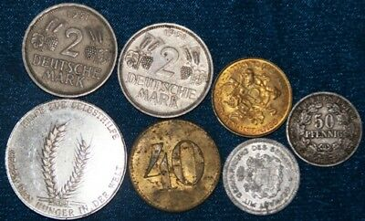 GERMAN  - 7 x Coin Mix