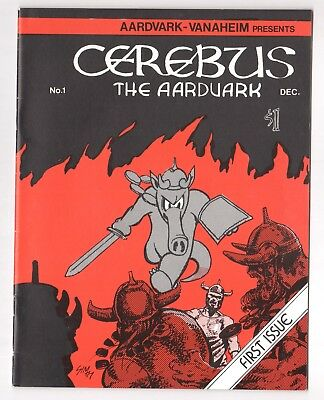 Cerebus The Aardvark #1 1st Printing (Real/Legit) December 1977 VF-