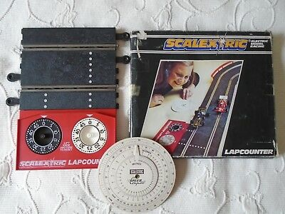 Vintage Scalextric Slot Car Analogue Track 50 Lap Counter C-272