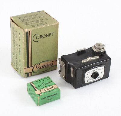 CORONET CAMEO, IN WORN BOX, WITH BOX OF TWO ROLLS OF FILM/cks/198326