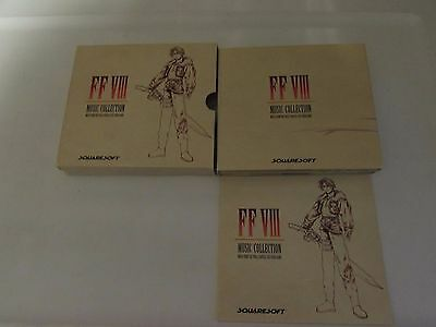 Final Fantasy Viii  4 Cd Music Collection - Rare Oop Squaresoft