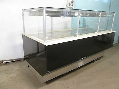 """""""barker"""" Commercial High-End Heated Lighted Full-Service Hot Food/pizza/buffet"""