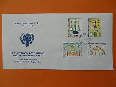 international year of child FDC New Hebrides 32600