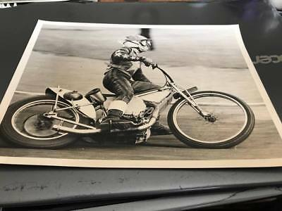Wimbledon Dons--Trevor Hedge---1970---8X6---Speedway--Action Photo