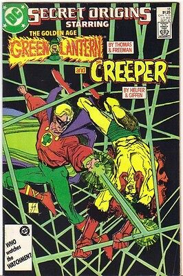 Secret Origins #18 Green Lantern & The Creeper FN (1987) DC Comics