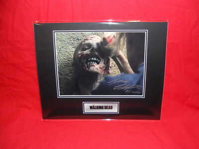 PRICE SLASHED! The Walking Dead Travis Charpentier (RV Walker) Signed Display