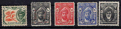 Zanzibar stamp Collection Fine