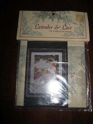 Lavender & Lace Victorian Designs:  Chart ONLY for Nantucket Rose