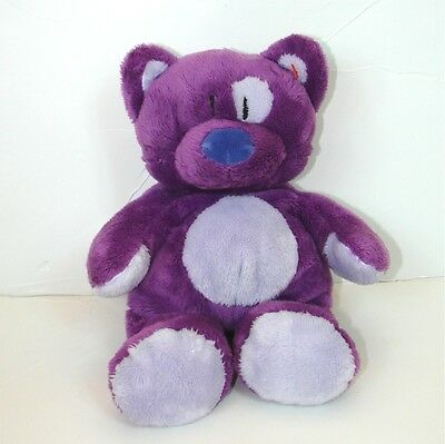 Ty Pluffies purple kitty cat Roller velour baby plush toy stuffed lovey NWOT
