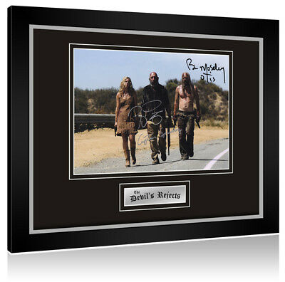 Sale! Devils Rejects (Bill Moseley / Sid Haig) Signed Framed Display
