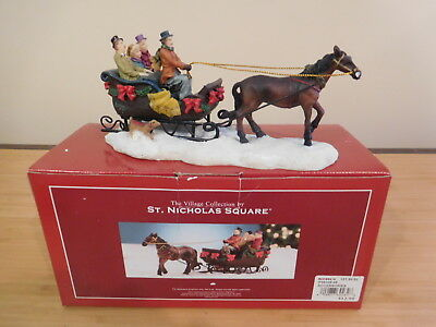St. Nicholas Square Collection - Sleigh Ride