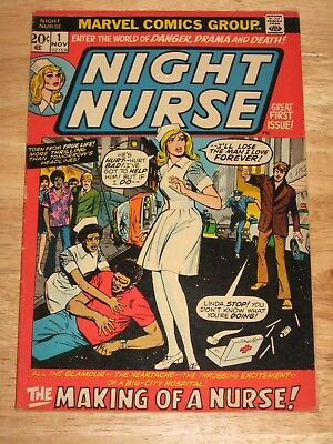 Night Nurse 1 The Rarest Marvel Comic Of All Time!  See All 12 Enlarged Pix