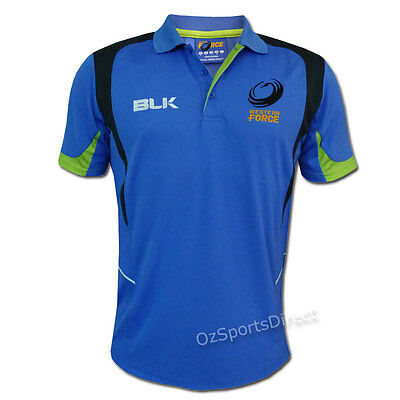 Western Force 2015 Training Polo Shirt - Sizes S - 5XL *SALE PRICE*