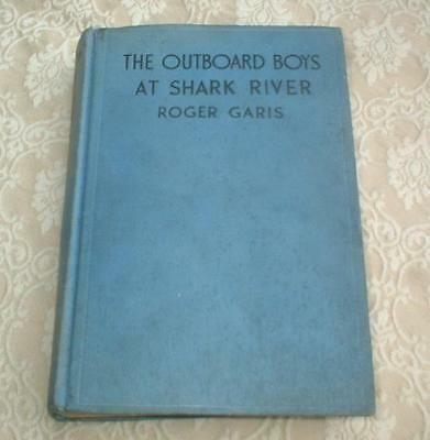 1934 Boys Series Book The Outboard Boys At Shark River Roger Garis Mystery Tower