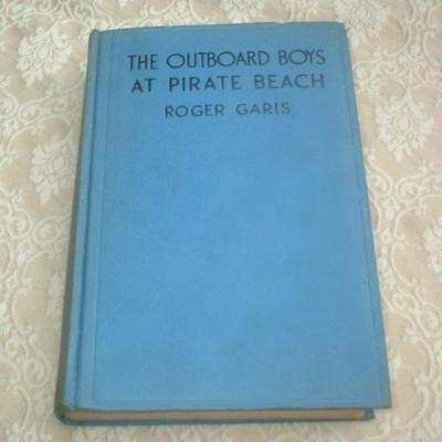 1933 Series Book The Outboard Boys At Pirate Beach Roger Garis ~Houseboat Secret