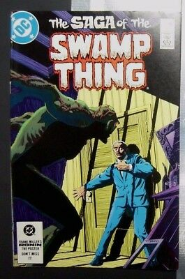 Swamp Thing #21 New Origin VF (1984, DC) - Alan Moore!