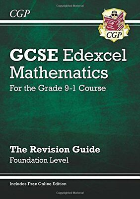 New GCSE Maths Edexcel Revision Guide: Foundation - for the Grade 9-1 Course (,