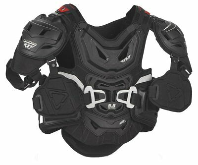 Fly Racing 5.5 Pro HD Chest Protector Junior Black
