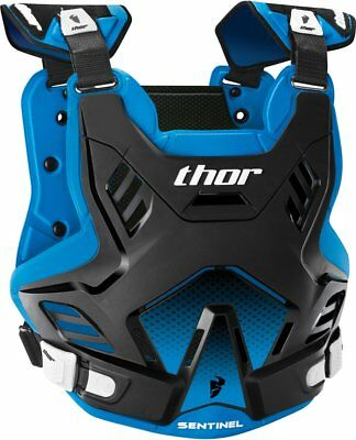 Thor Youth Boys Sentinel GP Chest/Back Roost Guard Protector Black Blue