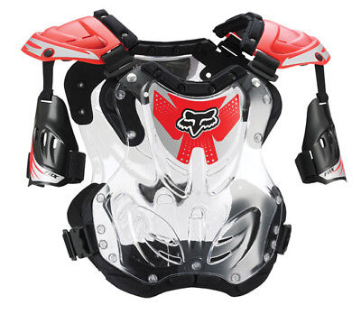 Fox Racing R3 Roost Deflector Small Red