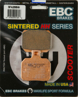 EBC SFA HH Sintered Scooter Rear Brake Pads Single Set For BMW Piaggio SFA266HH