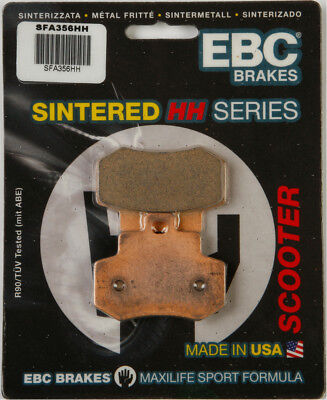 EBC SFA HH Sintered Scooter Rear Brake Pads Single Set For KYMCO SFA356HH