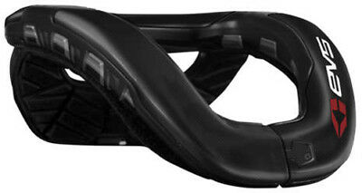 EVS Youth R4 Pro Race Neck Protection Collar Carbon Fiber Black