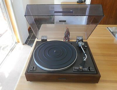 Vintage Pioneer PL-120 Turntable Record Player
