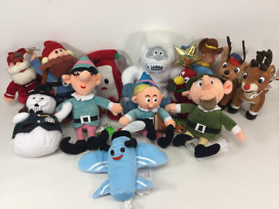 Cvs Rudolph & The Island Of Misfit Toys Plush Beanie Lot