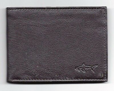 Year ? Greg Norman Genuine Leather Wallet & Box.