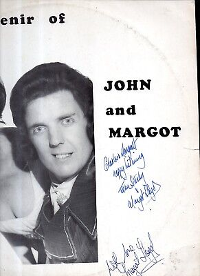 A souvenir of  John Stanley and Margot Lloyd  : 12 inch LP with signed sleeve