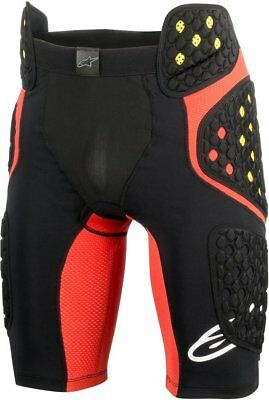 Alpinestars Mens Sequence Pro Padded Compression Riding Shorts Large Black